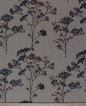 Wildwood Thyme Arbor Tree Branch Drapery-weight Cotton Decor Fabric by the Yard (wildwood-decor)