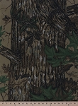 Real Tree Camouflage Camo Tan Twill Leaves Woodland Fabric Print By the Yard (realtree-tan)