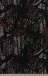 Elementree Heavy-weight Twill Russet Camouflage Trees Leaves Camo Fabric By the Yard (SRK-14808-180RUSSET)