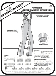 Women's High-Waisted Warm-Ups #103 Sewing Pattern (Pattern Only)