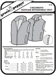 Children's Santiam Reversible Vest #112 Sewing Pattern (Pattern Only)