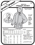 Adults' Oregon Jacket Coat #122 Sewing Pattern (Pattern Only)