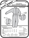 Children's Black Butte Jumpsuit Snowsuit Kids #140 Sewing Pattern (Pattern Only)