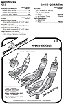 Wind Socks #212 Sewing Pattern (Pattern Only)