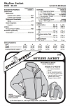 Adult's Skyline Jacket Coat Outerwear #506 Sewing Pattern (Pattern Only)