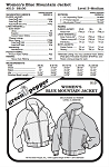 Women's Blue Mountain Jacket Coat Outerwear #513 Sewing Pattern (Pattern Only)