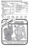 Women's Crystal Lake Skating Dance Exercise Outfit #517 Sewing Pattern (Pattern Only)