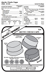 Arctic Circle Caps Hats Cold Weather Headgear #526 Sewing Pattern (Pattern Only)