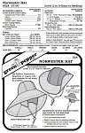 Norwester Hat Headgear #528 Sewing Pattern (Pattern Only)