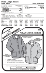 Adult's Polar Lodge Jacket Coat #532 Sewing Pattern (Pattern Only)