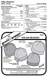 Fleece Polar Beanies Winter Hats Headwear #534 Sewing Pattern (Pattern Only)