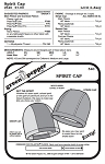 Spirit Cap Hat Headgear Head-wear #540 Sewing Pattern (Pattern Only)