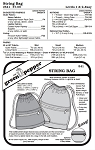 Drawstring Bag Bags Purses Knapsack #541 Sewing Pattern (Pattern Only)