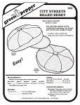 City Streets Billed Beret Hat #562 Sewing Pattern (Pattern Only)