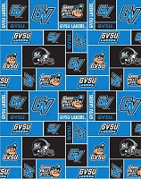 Easy to Sew Kit Cotton Pillowcase - College Grand Valley State University GVSU Lakers