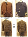 Men's 1860-1900 Sack Jackets Sewing Pattern #116 (Pattern Only)