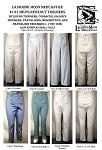 Men's Regency Trousers Pants Cossacks Sailor's Pantaloons Moschetto's Small Falls c.1790-1830 Sewing Pattern #131 (Pattern Only)