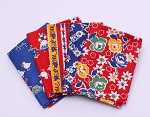 5 Fat Quarters - Assorted Dutch Holland Netherlands Tulip Windmill Fabrics Quality Quilters Cotton Fat Quarters M226.08