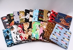 10 Fat Quarters - Dogs Puppy Puppies Canine Pets Quality Quilters Cotton Fabrics M227.05