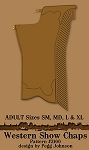 Western Show Chaps 2100 Equestrian Sewing Pattern