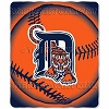 Detroit Tigers® MLB Baseball 50x60 Fleece Fabric Throw