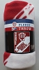 Indiana University Hoosiers College 50x60 Fleece Fabric Throw