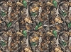 Flannel Realtree Camo Camouflage Leaves Branches Cotton Flannel Fabric Print (10023)