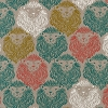 Cotton & Steel - 55% Linen / 45% Cotton August Sarah Watts Lions Fabric Print By the Yard (2007-012)