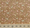 Cotton Fresh Cottons Fig Tree Quilts Floral Brown Cotton Fabric Print by the Yard (20135-15)