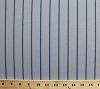 Pinstripe Grey and Blue Athletic Jersey Knit Fabric by the Yard - D331.14