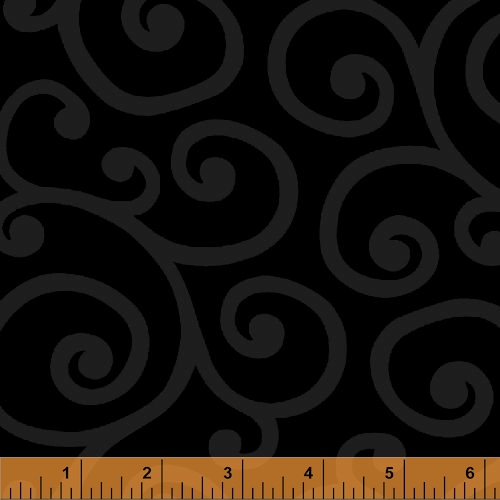 108 Quot Wide Cotton Quilt Back Backing Tone On Tone Black