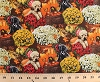 Cotton Fall Festival Dogs Puppy Puppies Black Labrador Retrievers Flowers Bouquets Pumpkins Apples Butterfly Butterflies Fall Leaves Harvest Autumn Bounty Cotton Fabric Print by the Yard (4458-24783-mul1)
