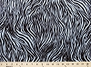 Matte' Jersey Grey & Black Zebra Stripes Animal Fabric Print by the Yard (4652G-1K)