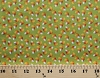 Cotton Candy Corn Halloween Candies Confections Sweets Fall Autumn Trick or Treat Halloween Green Cotton Fabric Print by the Yard (4907-73)