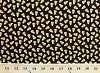 Cotton Candy Corn Candies Confections Confectionery Fall Festival Autumn Halloween Sweets on Black Trick or Treat Diane Arthurs Cotton Fabric Print by the Yard (4907-99)