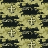 Fleece New Orleans Saints NFL Football Liquid Blue Fleece Fabric Print by the yard (s6390df)