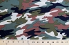 Matte' Jersey Woodland Camo Camouflage Knit Fabric Print By the Yard (7200G-6L)