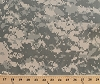 Army Digital Camouflage Olive Green/Tan Conceal Nylon Fabric by the Yard D910.03