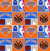 Cotton New York Knicks NBA Pro Basketball Sports Team Cotton Fabric Print by the yard (83nyk0001a)