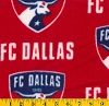 Fleece FC Dallas Toros MLS Major League Soccer Fleece Fabric Print