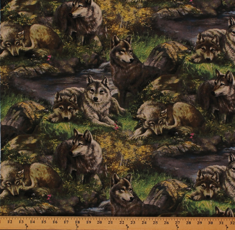 Cotton Lazy Afternoon Wolf Wolves Nature Animals Wildlife