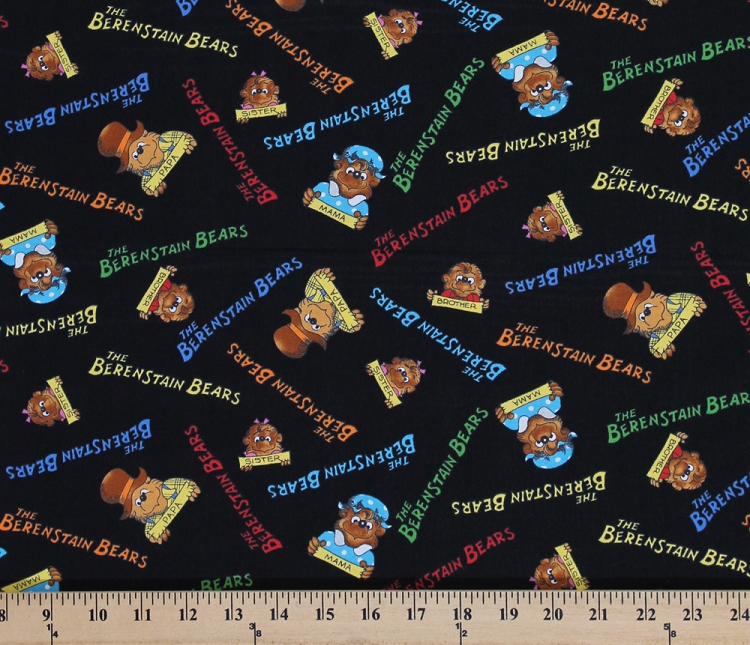 Cotton The Berenstain Bears Logo Amp Family Pictures School