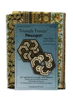 Quilt Kit - Triangle Frenzy® Hexagon 49