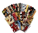 10 Assorted Fat Quarters - Chickens Roosters Hens Chicks Hen Fowl Birds Farm Farming Poultry Quality Cotton Fat Quarter Bundle M492.19