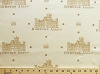 Cotton Downton Abbey Dots Natural Main Print Cotton Fabric Print by the Yard (A-7317-N)