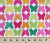 Laguna Cotton Jersey Knit Prints Multi Butterflies Butterfly Citrus Fabric by the Yard (aakbf-12867-134)