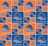 Cotton Boise State University™ College Cotton Fabric Print - sbs020s