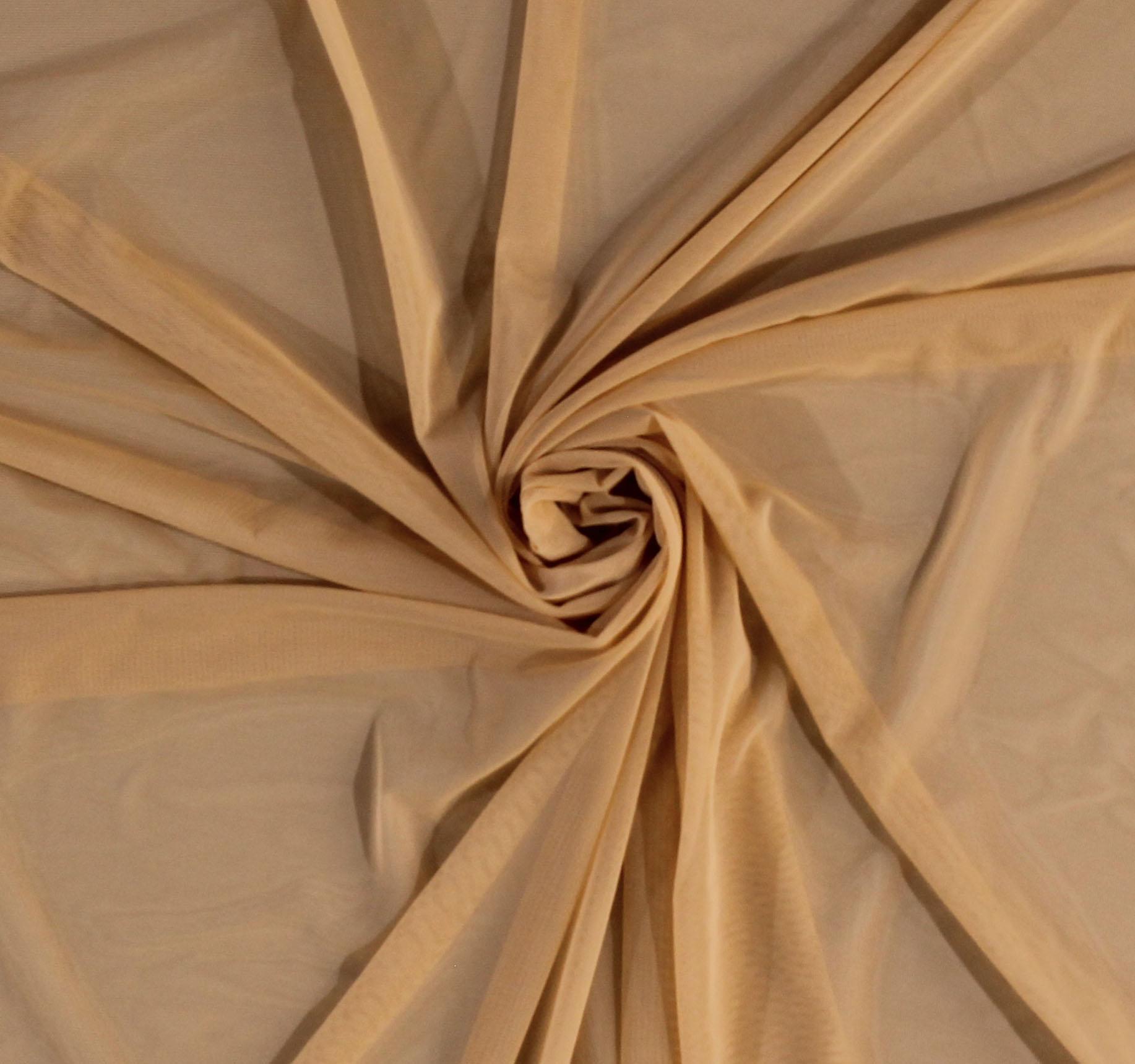 Nude Power Mesh Fabric   Dressmaking Fabrics - My Sewing Box