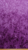 Cotton Batik Heliotrope Purple Ombre Gradations Variations Mottled Style Hand Painted Batik Cotton Fabric Print by the Yard (851-PUNCH-474)