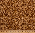 Cotton Giraffe Animal Skin Print Design Spots African Animals Safari It's A Jungle Out There Cotton Fabric Print by the Yard (5009)
